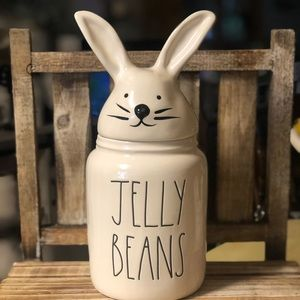 Rae Dunn Baby Jelly Beans Canister With Bunny